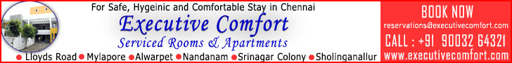 Executive comfort - Serviced Rooms