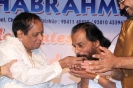 85th Birthday celebration of Dr. M. Balamuralikrishna / Chennai